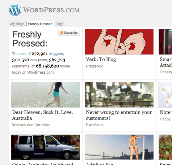 We have some of the best content on WordPress today!